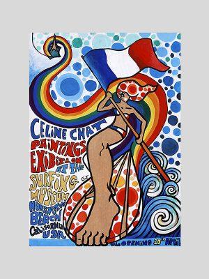 affiche expo-celine chat-californie1-site