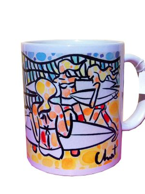 celine-chat-3-girls-go-surfing-mug-WEB