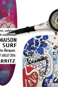 affiche expo biarritz