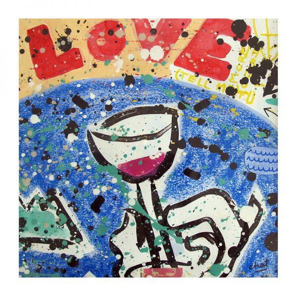 love-drink-celine chat-29x29cm
