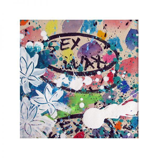 sex wax pop art-3-celine chat-19x19cm copy
