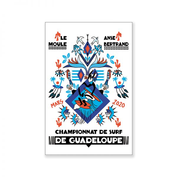 visuel surf-poster-champ-surf-guadeloupe-2020